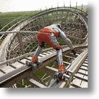 Roller Coaster Rollerblade Run